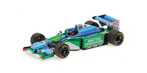 BENETTON-FORD-b194-SCHUMACHER-World-Champion-1994-400940005-Minichamps-1-43-New