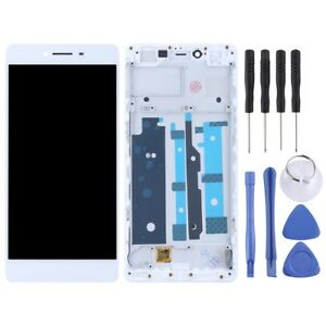 Zhangfei Phone Replacement Parts for Oppo R7 LCD Screen and Digitizer Full Assembly White Color : White