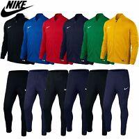 Mens Nike Tracksuit Full Zip Jogging Football Top Bottoms Jacket Pants S M L Xl