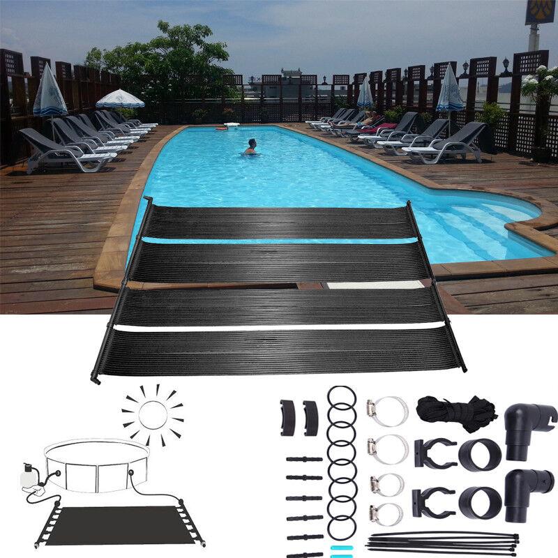 Riscaldatore a pannelli solari per piscine fuori terra aumento temperatura
