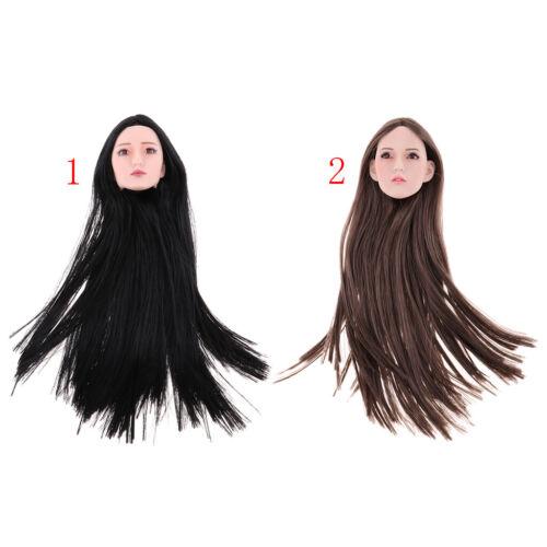6 con capelli molto tempo per 12 pollici phicen kumik Modello in scala 1
