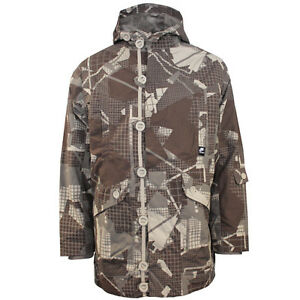Graphic Jacket Department Mens Nike Parka Brown Athletic Hooded w0gxqSxX