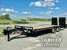New 2022 8 X 25 20 5 24k Deckover Heavy Equipment Trailer With Rampage Ramps