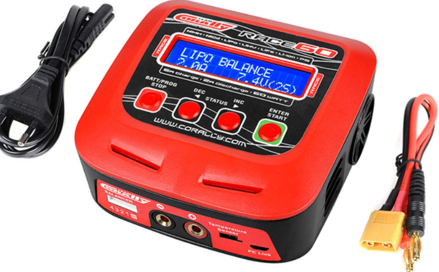 Squadra Cortuttiy autoicatore Race 60 autoicabatteria  Ac-Dc 60W energia 2-4 li 6-8 Ni  incentivi promozionali