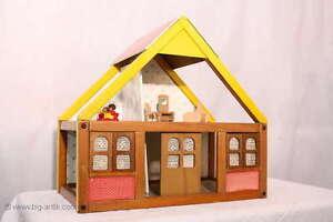Wundersch nes gro es puppenhaus puppenstube zimmer - Puppenhaus fenster ...