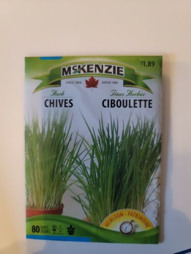 Mckenzie seeds Herbs dill,basil,oregano,parsley,thyme,chives,cilantro,rosemary