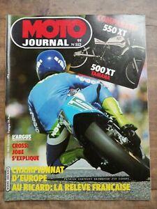Moto Journal Nº 552 / 15 Avril 1982