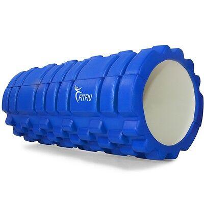 Rodillo fitness deslizante ROLLER color azul