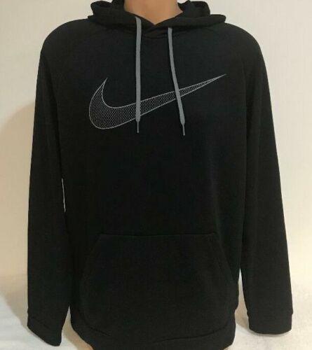 Nike Men/'s Size SMALL Dri-Fit Essential Swoosh Pullover Hoodie AQ5249 010 NWT