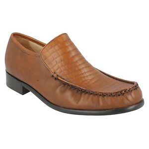 GRENSON-da-uomo-Marrone-formali-Eleganti-Mocassino-da-infilare-scarpe-MONTANA-UK