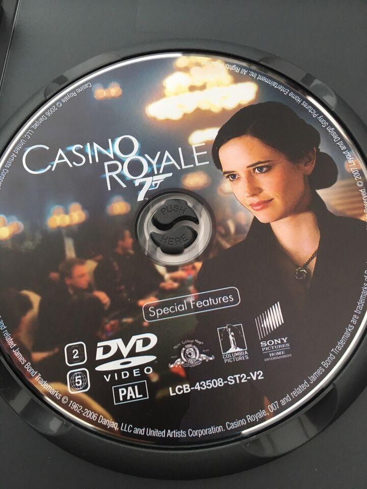 James Bond - Casino Royale, DVD, action