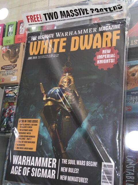 Warhammer Magazine: White Dwarf (June 2018)