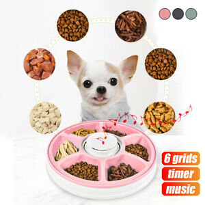 AUTO-Dog-Pet-Feeder-Dispenser-Food-Bowl-6-Meal-Automatic-Program-Digital-Musical