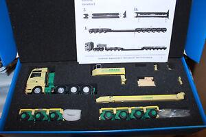 KK-Conrado-70200-MAN-TGX-8-x-4-Goldhofer-remolques-cuello-de-ganso-HN-3-4achs-THP-KK