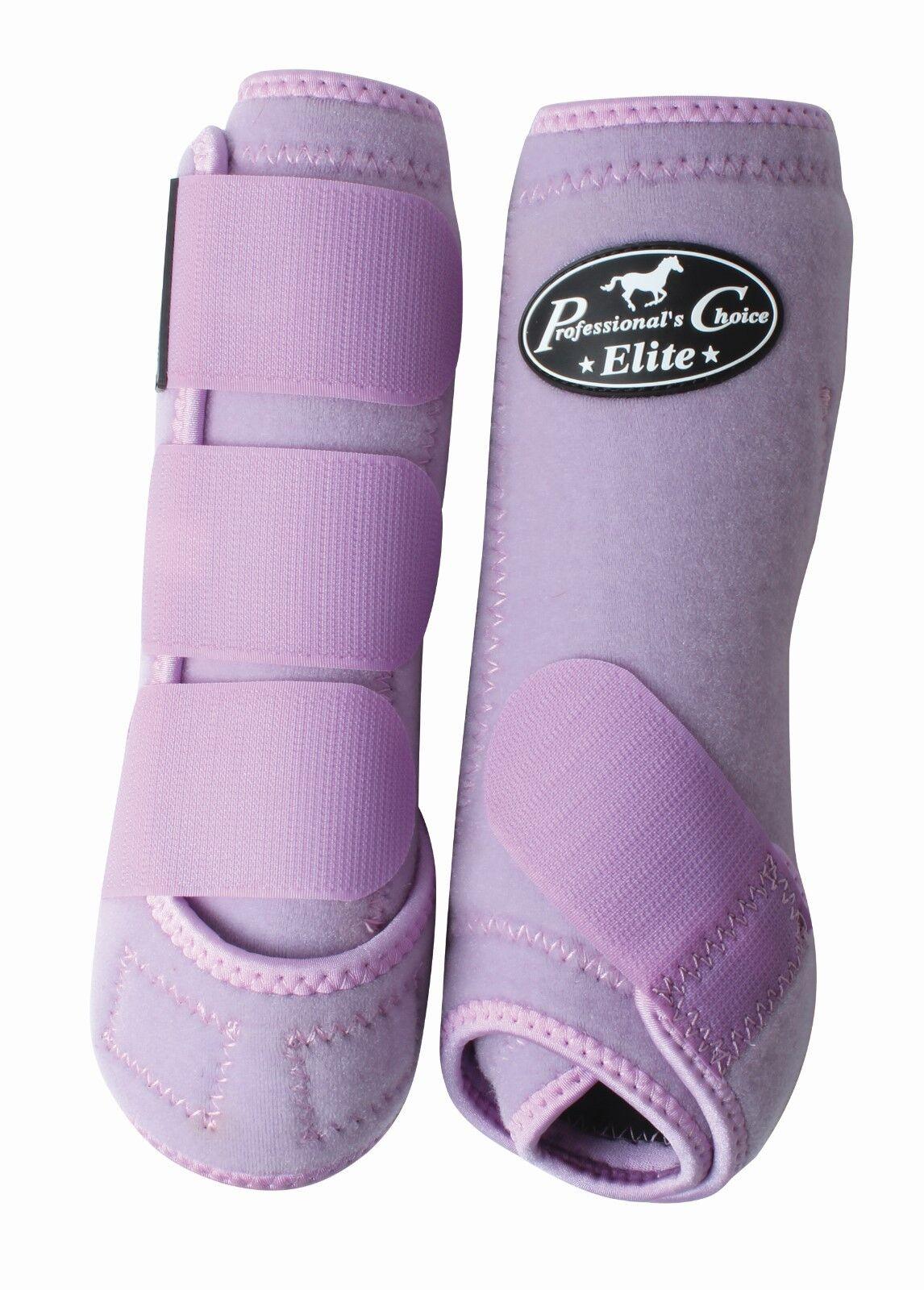 Professional's Choice Ventech Elite Front Equine SMB Medicine Boots Lilac Purple