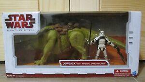 STAR-WARS-Legacy-Dewback-amp-Sandtrooper-NIB