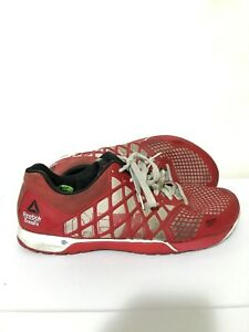 Reebok-Crossfit-Nano-Mens-Training-Running-Shoes-Red-Size-12