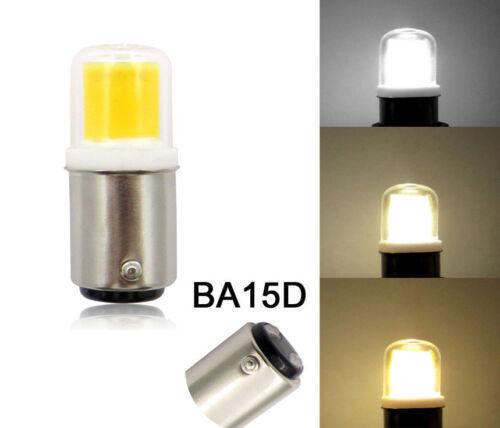 BA15D B15 Bayonet Base LED Light Bulb 4W COB 1511 Lights Lamp Fit Sewing Machine