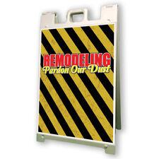 Remodeling Pardon Our Dust Sidewalk A Frame 24x36 Outdoor Vinyl Retail Sign