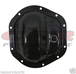 For 66-03 Dodge Ford GMC Jeep Dana 44 Steel Front Rear Differential Cover Chrome