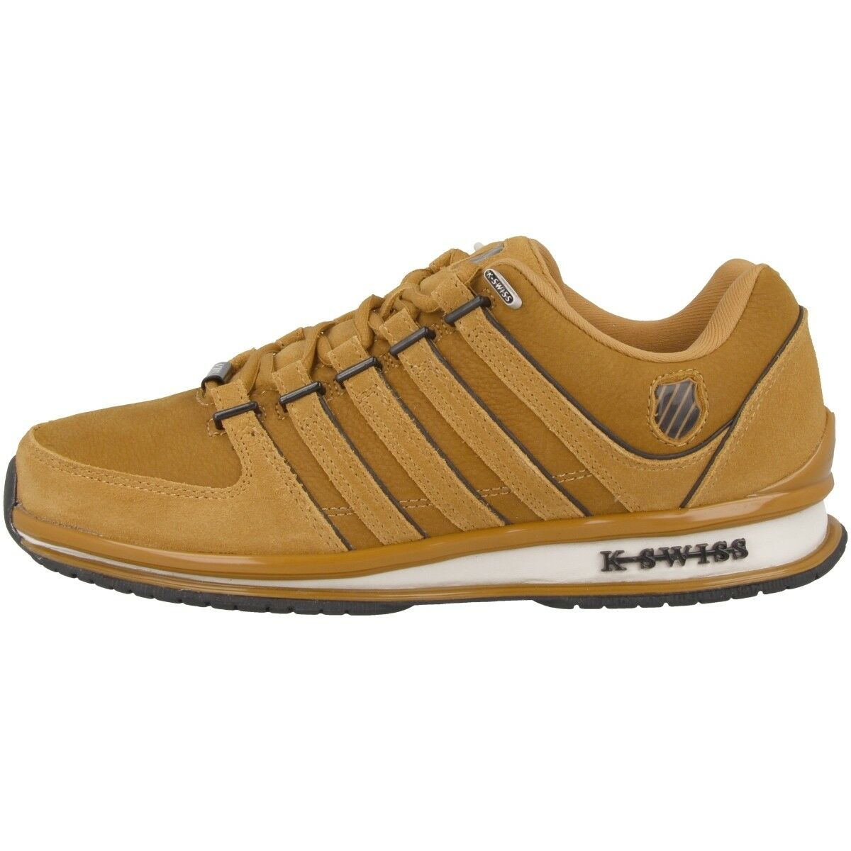 K-Swiss Rinzler sp cortos trae-back-style SMU zapatos Bone marrón 02283-211