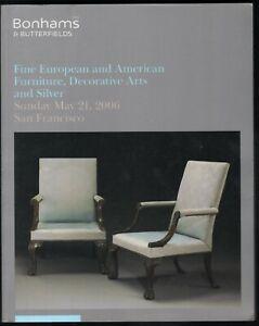 Bonhams Auction Catalog 2006 European American Furniture Silver 13841 Ebay