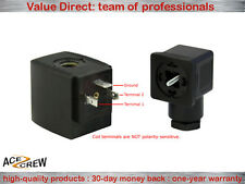 Solenoid Coil 24v Dc Vdc For Ace Crew Brass Normally Closed Electric Valve