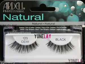 a0153fab58d Image is loading ARDELL-Natural-120-Demi-Black-False-Eyelashes-Fake-