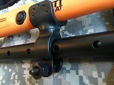 2 Pro Pointer PinPointer Flashlight Holder Fisher Tesoro Teknetics Bounty Hunter