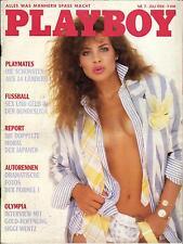 PLAYBOY D 7/1988 Juli - Die schönste Playmate der Welt - Die 14 von Hongkong