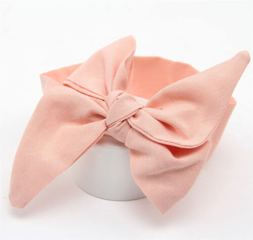 Newborn Headband Ribbon Elastic Baby Headdress Kids Hair Band Girl Bow Knot