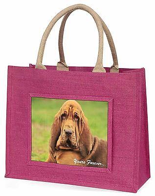 Dachshund Hund Yours Forever  Große Rosa Einkaufstasche Weihnachten,AD-BH7yBLP