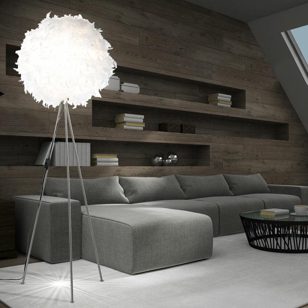 Nino Stehlampe Leuchte Lampe Feder Schlafzimmer Federleuchte