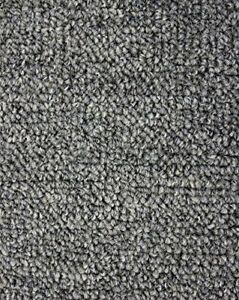 Image is loading Gunmetal-Indoor-Outdoor-Level-Loop-Area-Rug-Carpet