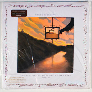 Nitty-Gritty-Dirt-Band-More-Great-Dirt-Best-of-Vol-2-1989-SEALED-Vinyl-LP