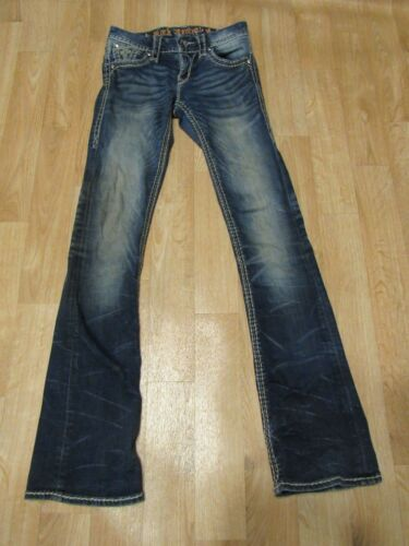 26 Cut Boot Revival Taglia Effetto Rock 25 Jeans Drew 32 X wf71qBH