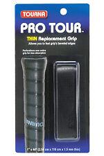 Tourna Pro Tour Racchetta da Tennis Ricambio Grip-Nero