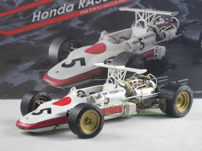 1 20 Ebbro 22008 Honda F-1 RA302  5 1968 Tokyo Motor Show (défaut )