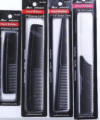 1 Piece Hard Rubber Hair Comb Pocket Barber Dressing
