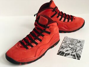 pretty nice 40317 e77c7 Image is loading NIKE-AIR-JORDAN-10-x-STEVE-WIEBE-LTD-