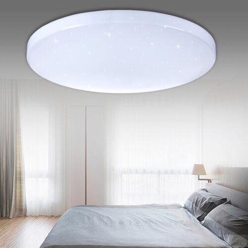 16W LED Deckenleuchte Lampe Stern Himmel Dekor Ess Zimmer Beleuchtung Weiß