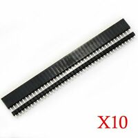 20 Pcs 2.54mm Breakaway Pcb 40 Pin Male Female Header Connector Arduino Shield