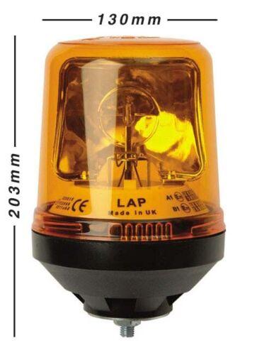 Van LAP 121 Rotating R65 Light Beacon Single point fixing