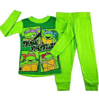 Boys Pyjamas with Turtles Detail size 2-3 years