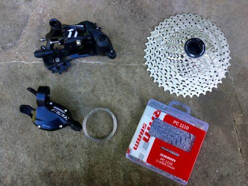 New SRAM Apex1 Apex 1 1X 11 Speed 4 Pc Flat Bar Road Gravel Bike Group Groupset