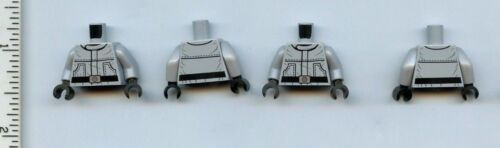 Star Wars LEGO x 4 Minifig Torso SW Wrinkly Jumpsuit with Pockets AT-ST Driver