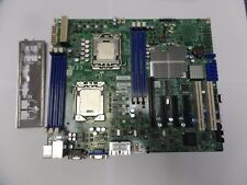Super Micro X8DTL-iF, LGA 1366, ATX Motherboard with 2 x Xeon E5620 & I/O Shield