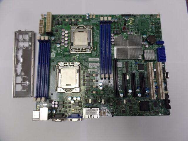 LGA Dual LGA 1366 Intel  Motherboard with i//o shield Super Micro  X8DTL-iF