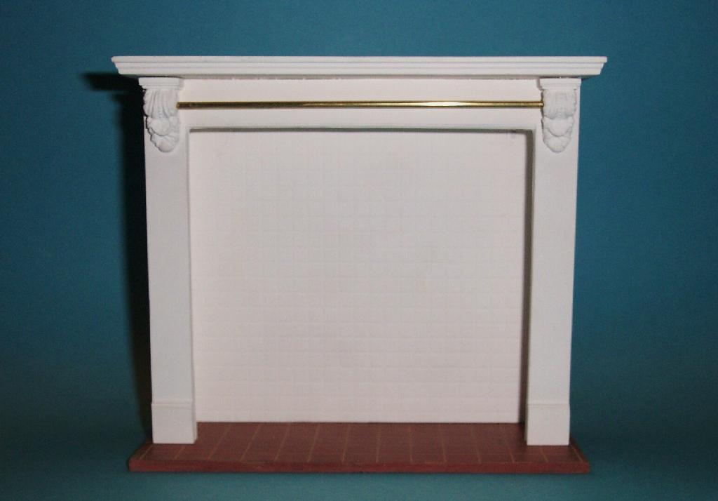 1 12th  scale Dolls House  Wider  Stove Surround only   C1