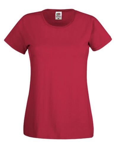 Belcoro® GarnFruit of the Loom Damen Original T Lady-Fit